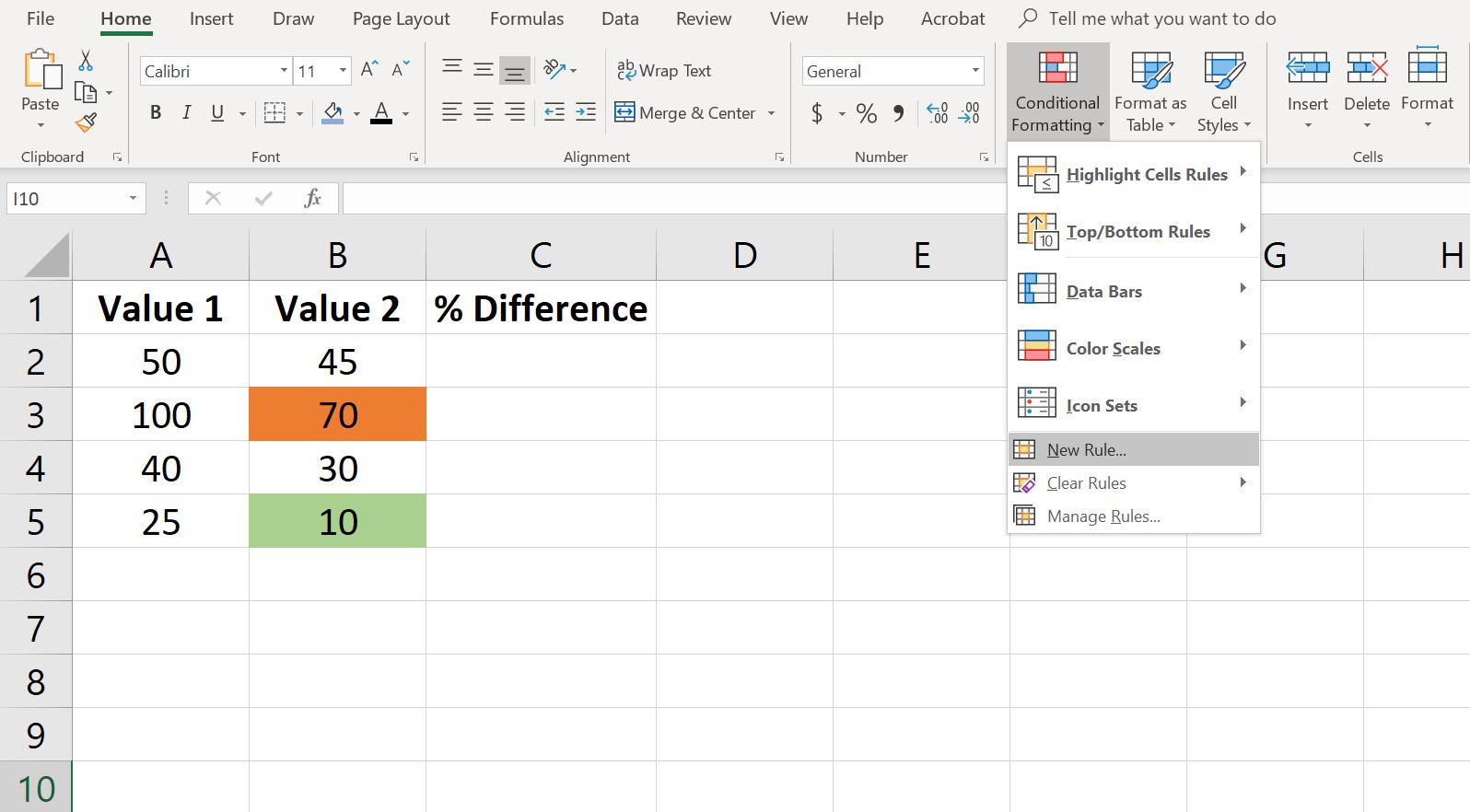 Using Formulas For Conditional Formatting In Excel