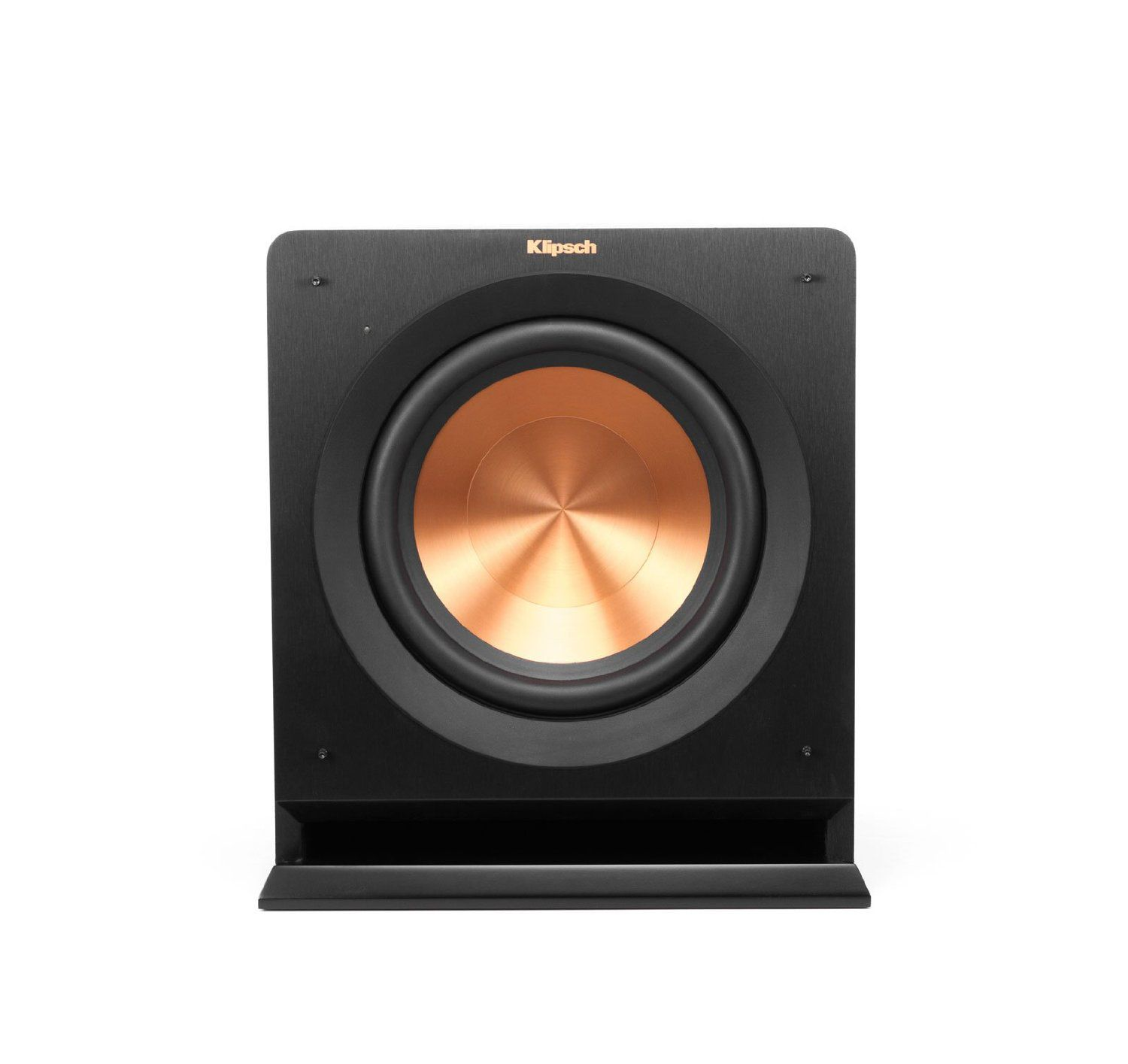 hight resolution of best wide frequency range klipsch r 110sw 10 200 watt subwoofer