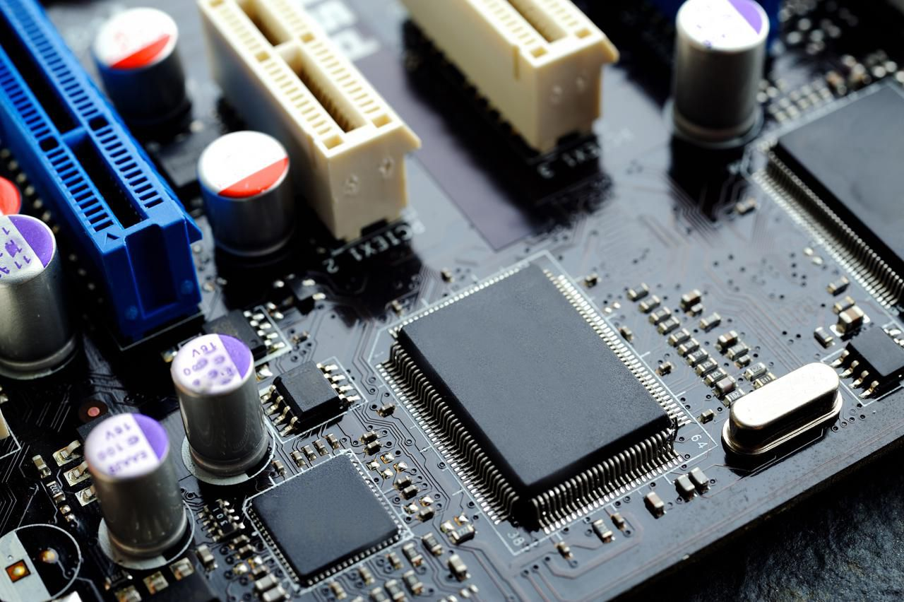 With The Scanner Based Technology Of A Conformal Coated Circuit Board