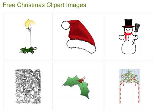 small resolution of allfreeclipart com free christmas clipart