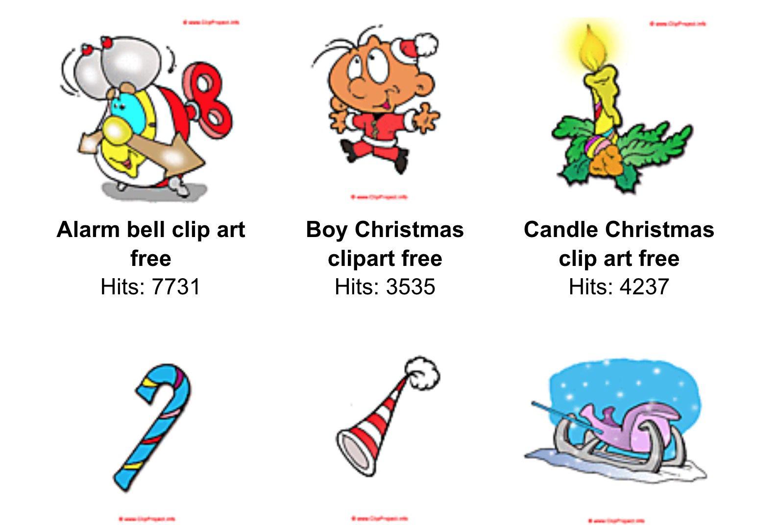 hight resolution of free christmas clip art