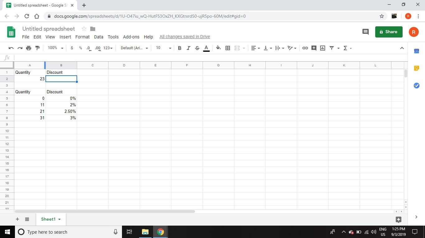 Find Data In Spreadsheets With Vlookup