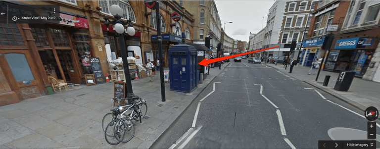 How To Fix Falling Wallpaper How To Find The Doctor Who Tardis In Google Maps
