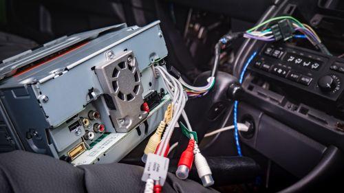 small resolution of kenwood radio wiring back
