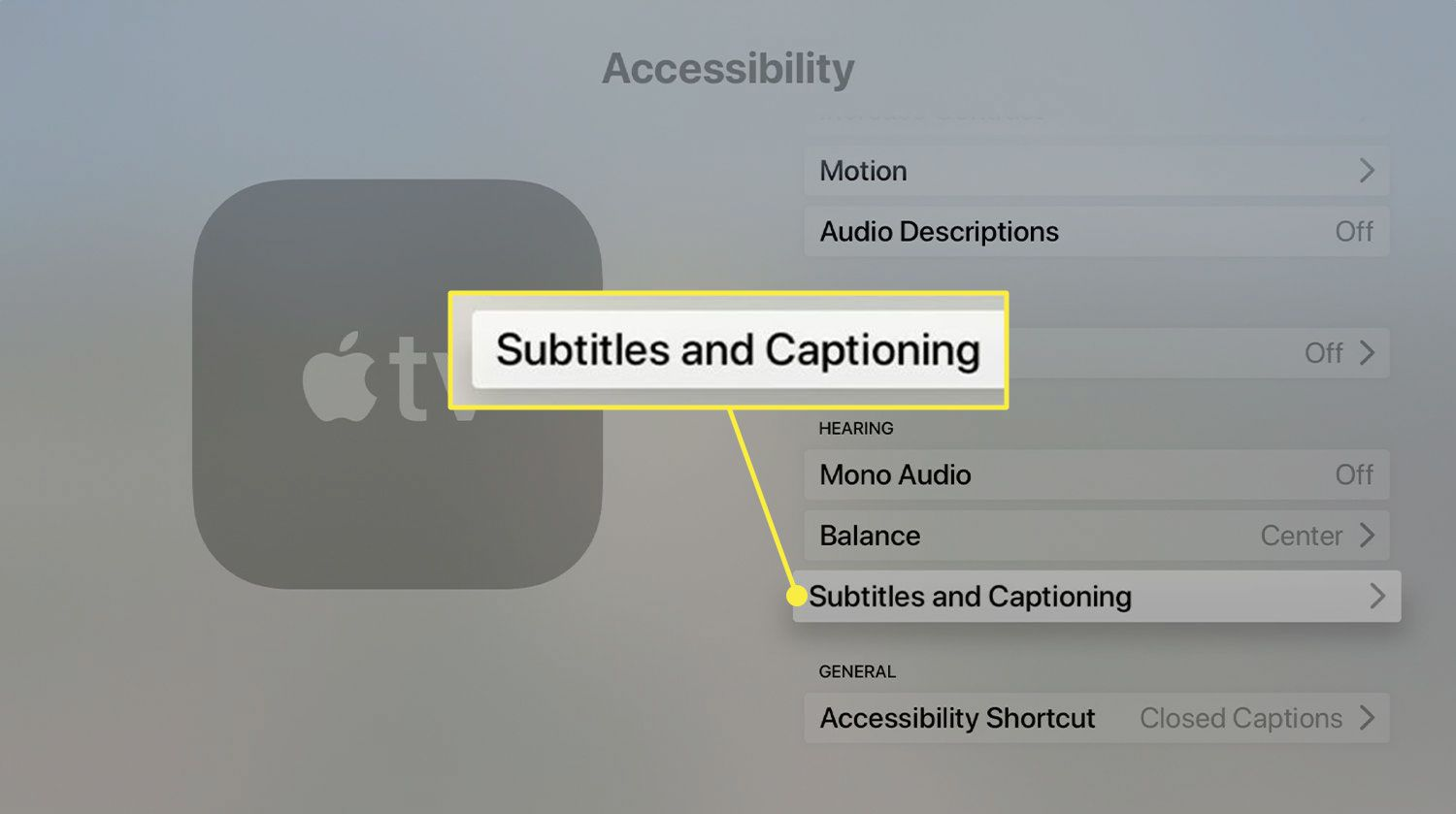 How to Turn on Apple TV Subtitles and Captions