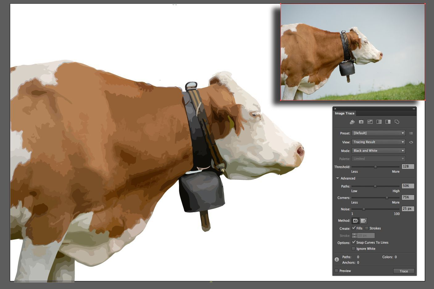 How To Use Image Trace In Adobe Illustrator Cc