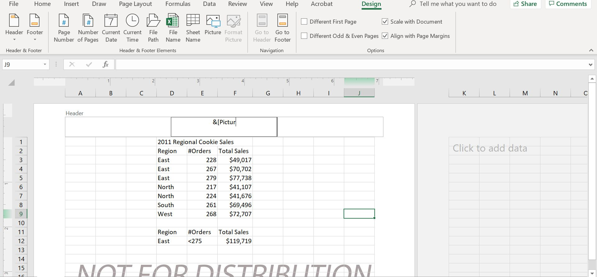 How To Insert A Watermark On An Excel Spreadsheet