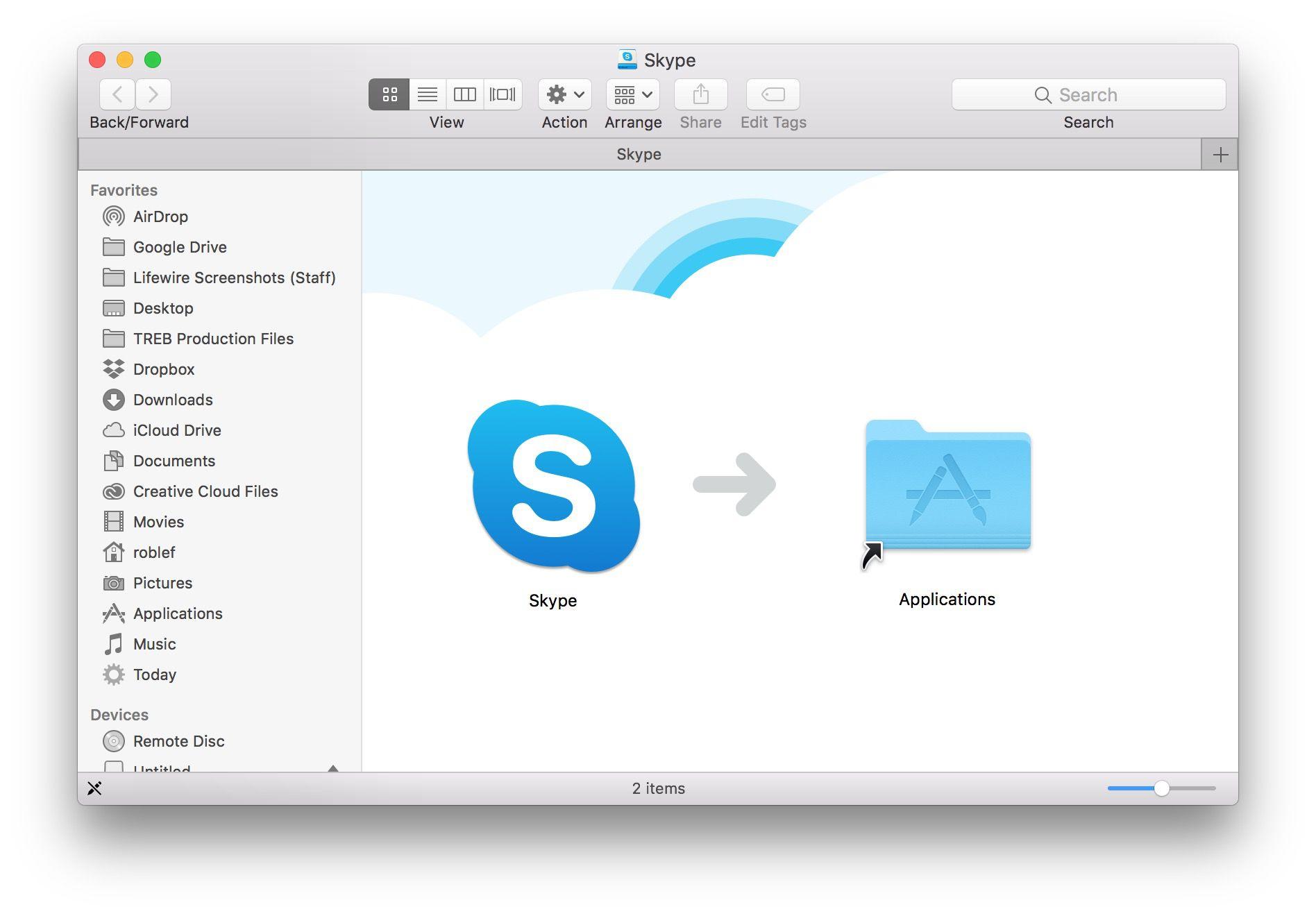 hight resolution of install skype on mac