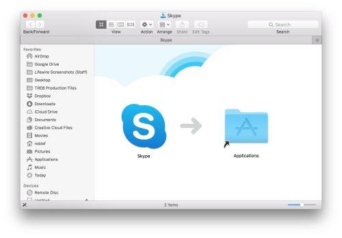 small resolution of install skype on mac
