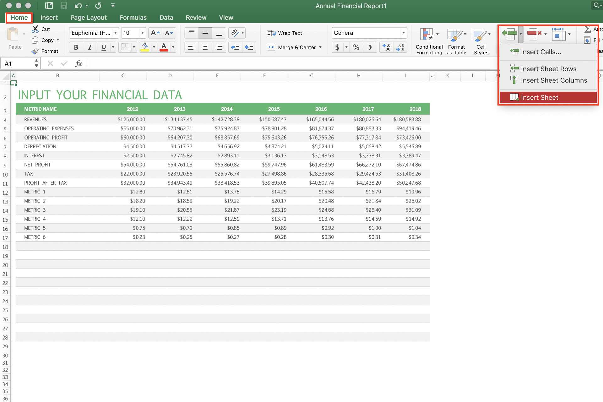 Insert New Worksheet In Excel