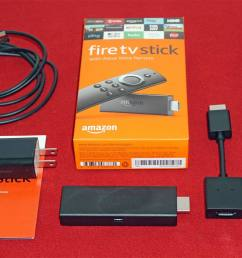 amazon fire tv stick with alexa voice remote package [ 1500 x 899 Pixel ]