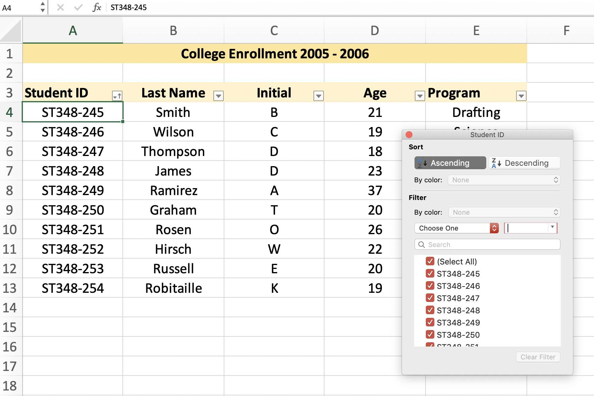 How To Create Data Lists In Excel Spreadsheets