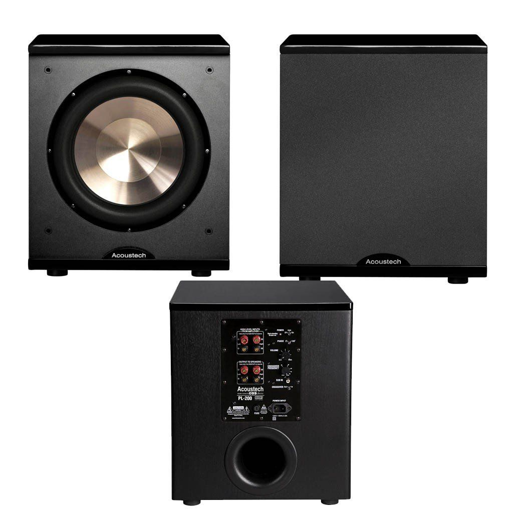 hight resolution of best home theater bic acoustec pl 200 ii subwoofer