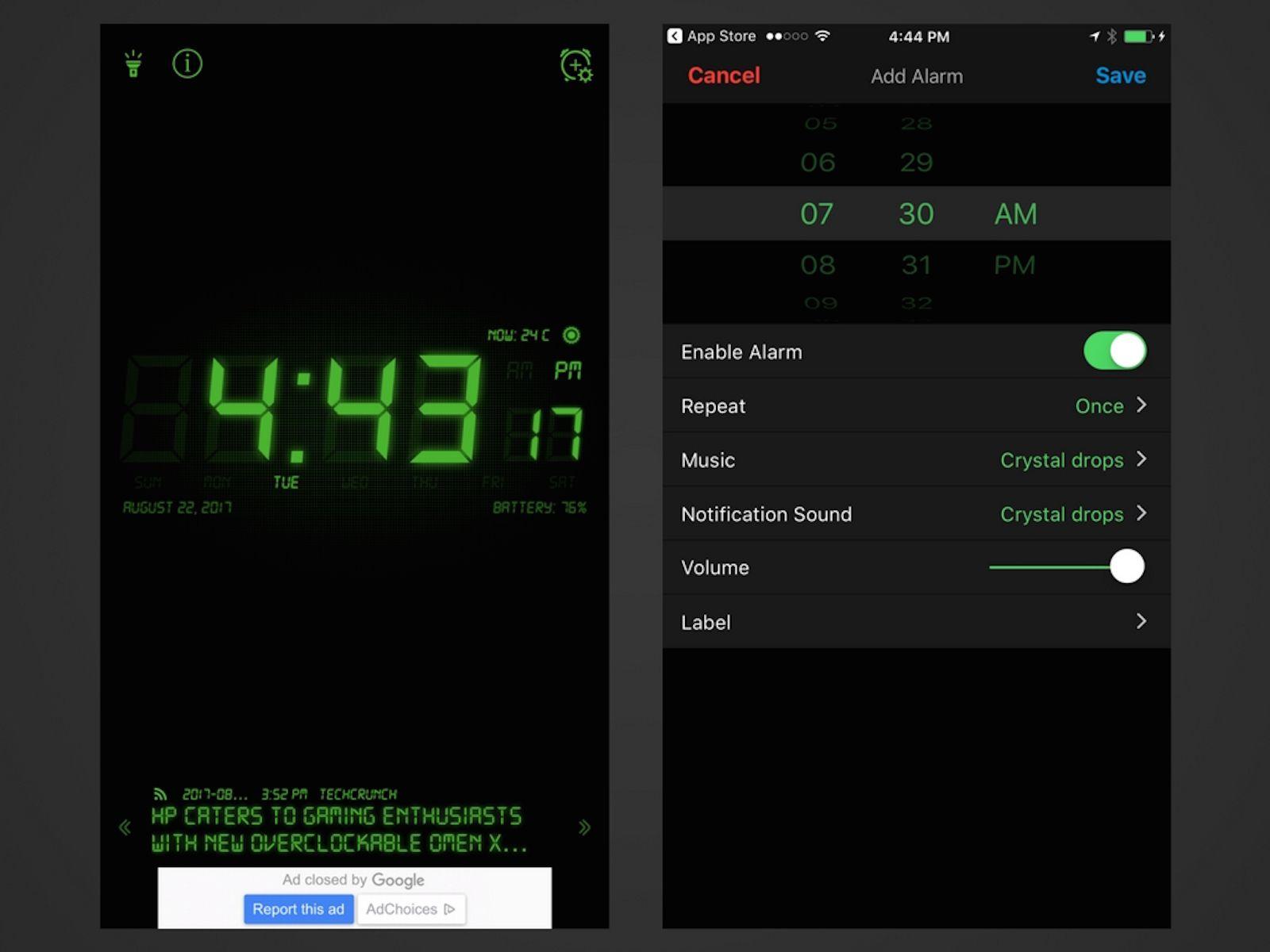 7 free online alarm