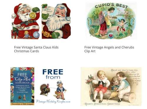 small resolution of vintage christmas clip art