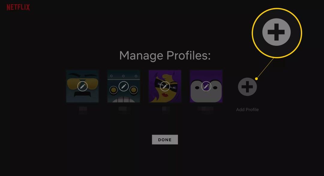 Bouton Ajouter un profil sur la page Netflix Gérer les profils comment Comment obtenir Netflix gratuitement 002 how to get netflix for free 4173976 5c37ab0c46e0fb0001216785