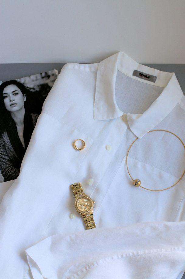wieße-Bluse,3-Arten-stylen,klassisch,ü40Blog,ü50Blog,Fashion,Mode,Evergreen,Klassiker