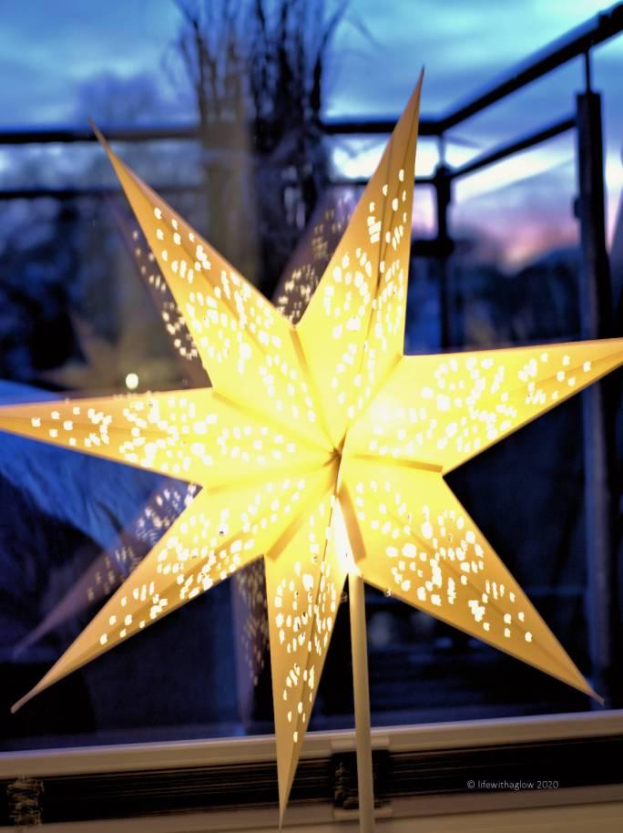 Weihnachtsdeko 2020- meine geliebten Sterne gehören dazu
