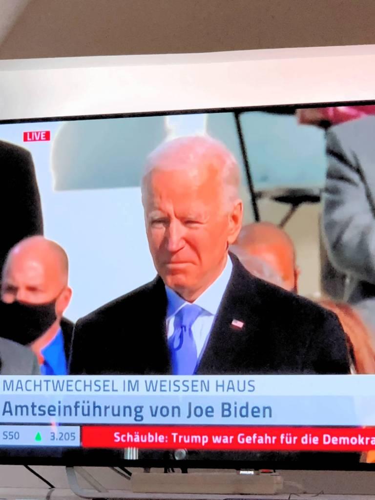 Momente des Glücks- Joe Biden ist Präsident