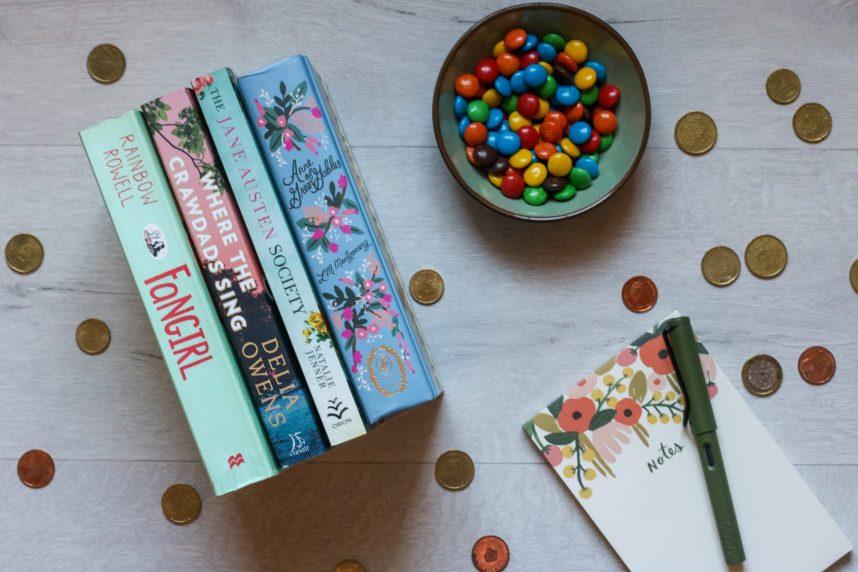 brief, boeken, lezen, geld, budget, dromen