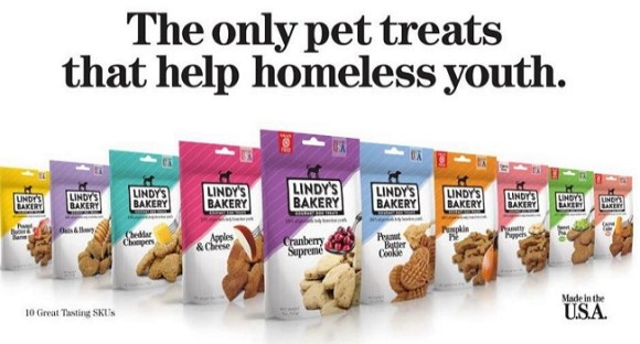 New Gourmet Pet Treats Support Homeless Youth - LIFE WITH DOGS