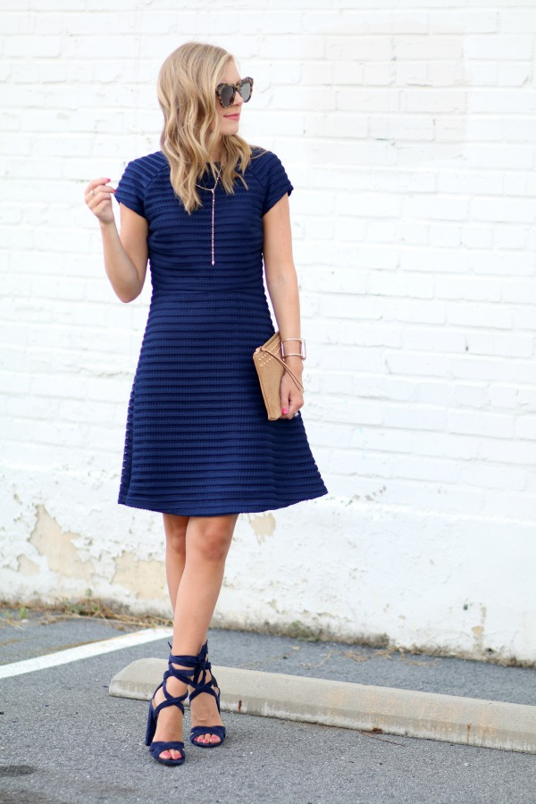 Sail to Sable Fit and Flare Dress 1