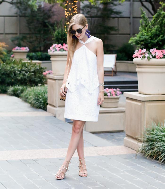 white dress for bridal shower