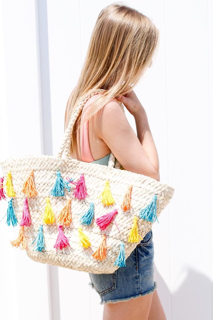 BEACH TOTE FOR SUMMER