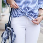 Blue & White Summer Stripes