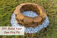 Build Your Own Backyard Fire Pit