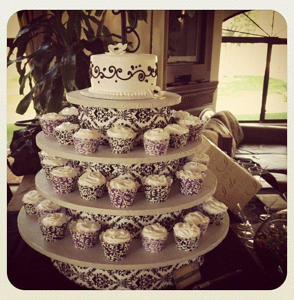 bridal shower cupcake cakes
