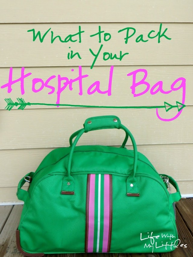 What to Pack In Your Hospital Bag: Tips from a second-time mama about what to bring to the hospital! The best list with lots of explanations!