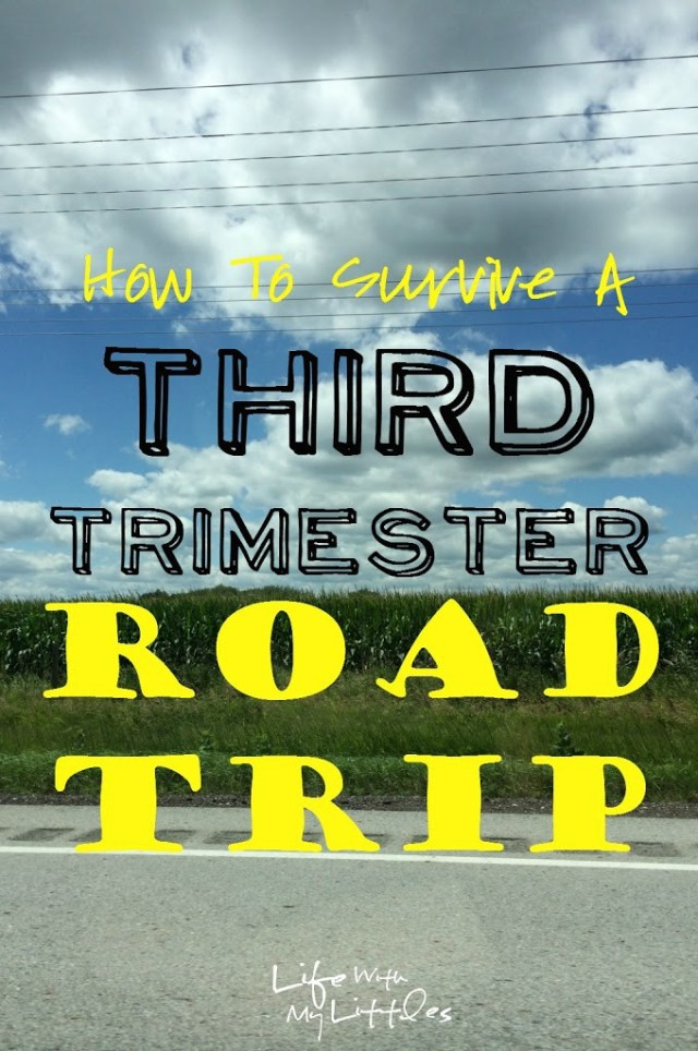 How to Survive a Third Trimester Road Trip: Tips to make the best of traveling in the last weeks of pregnancy!