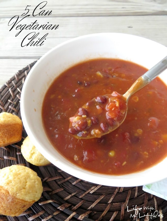 5 Can Vegetarian Chili