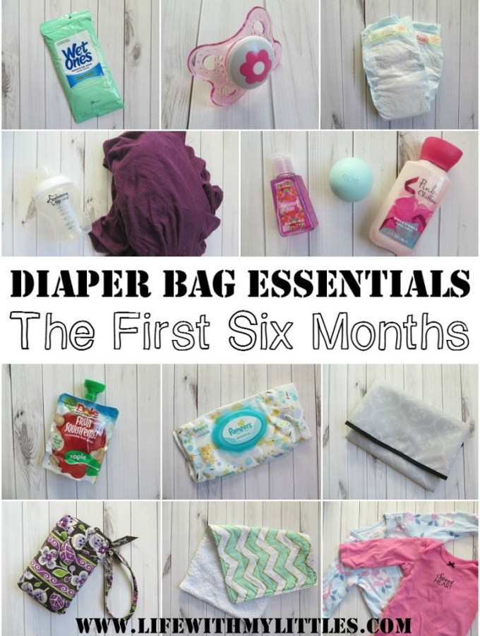 Diaper Bag Essentials: 0-6 Months