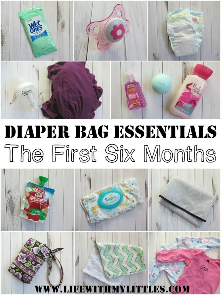 Diaper Bag Essentials 0 6 Months Life With My Littles