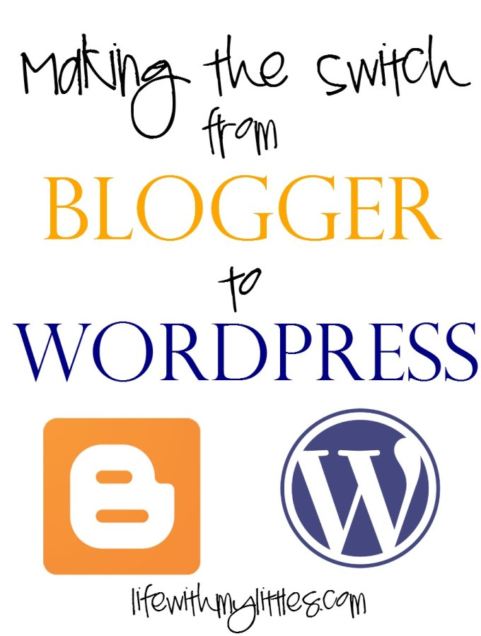 Making the Switch from Blogger to WordPress