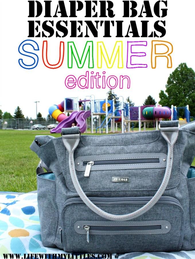 Summer Diaper Bag Essentials