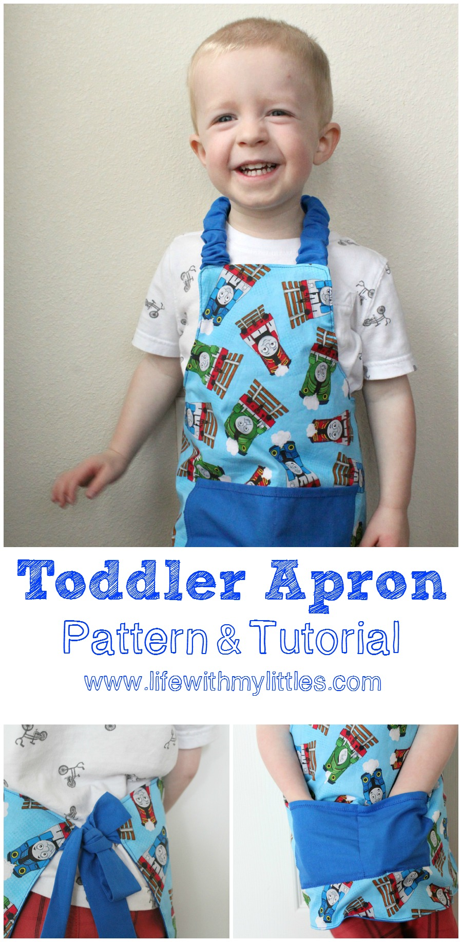 Easy Toddler Apron Pattern And Tutorial Life With My Littles