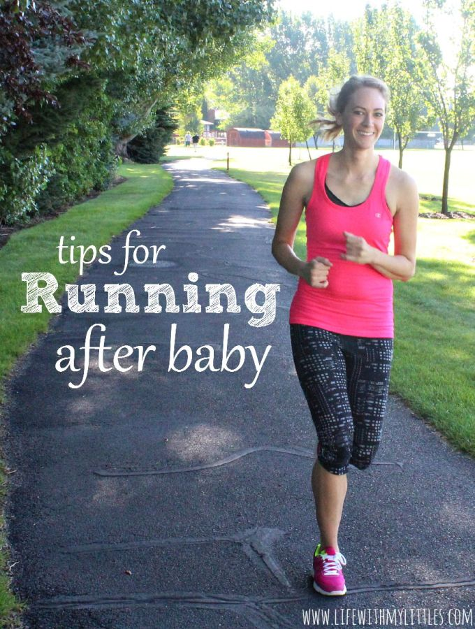Tips for Running After Your Baby is Born
