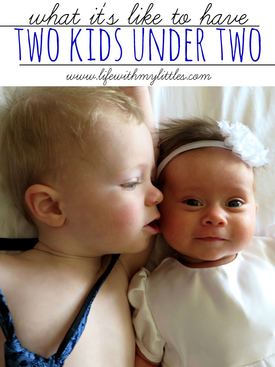 what it u0026 39 s like to have two kids under two
