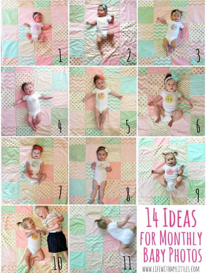 Monthly Baby Picture Ideas
