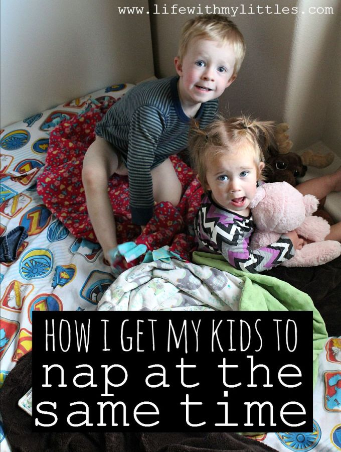 How I Get My Kids to Nap at the Same Time