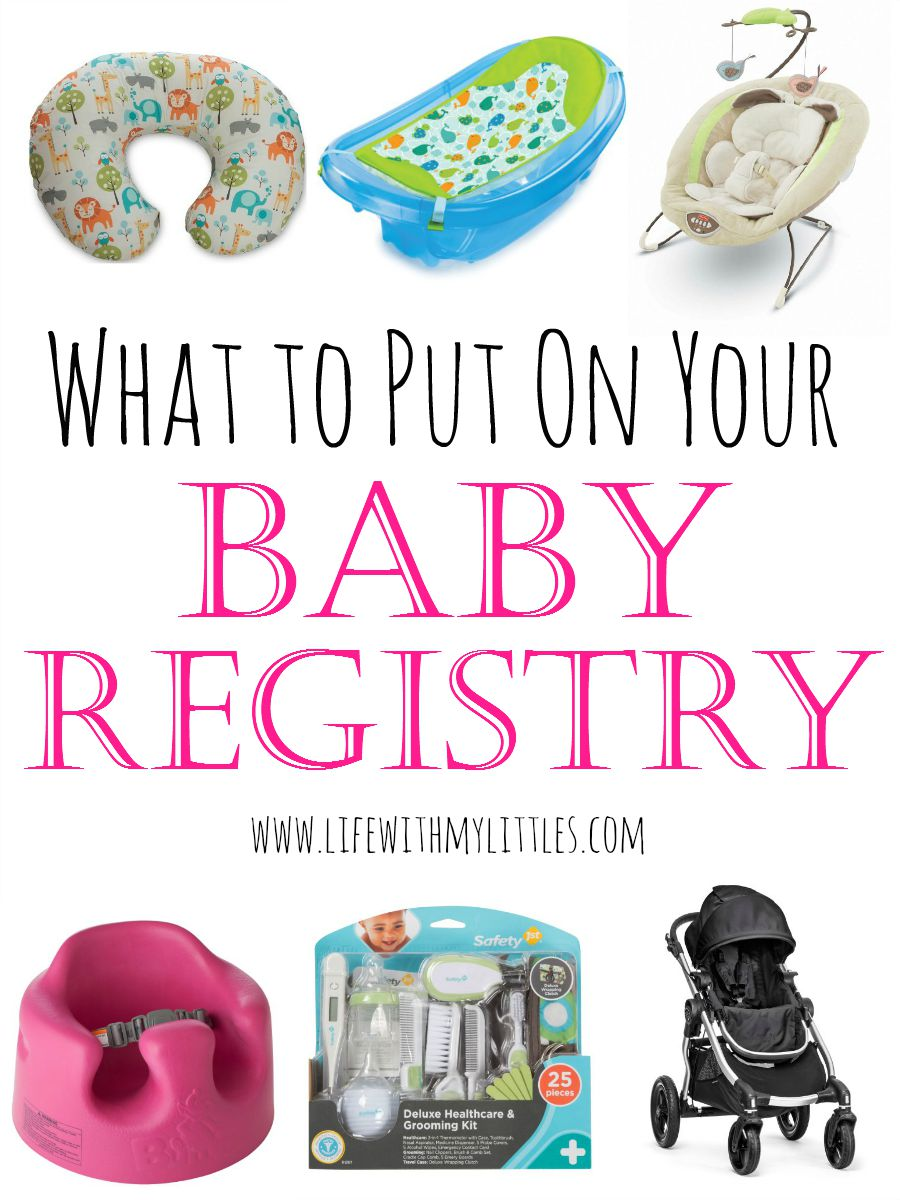 What to Put on Your Baby Registry  Life With My Littles