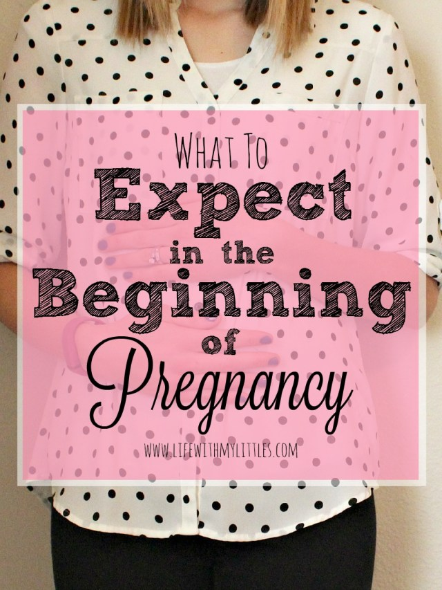 what to expect when pregnant
