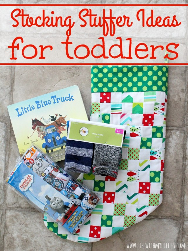 Stocking Stuffers For Toddlers Life With My Littles