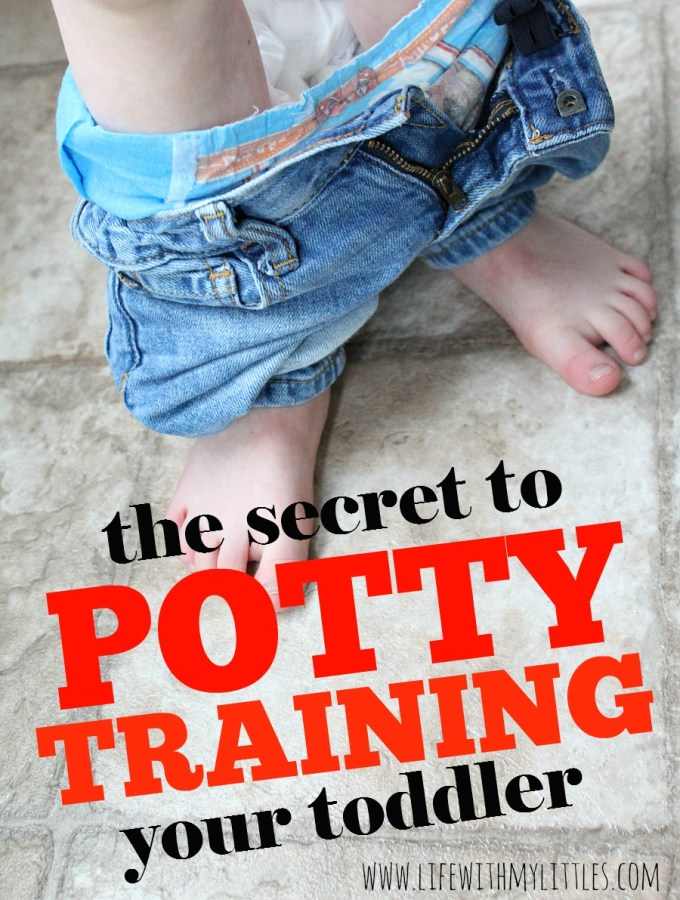 The Secret to Potty Training