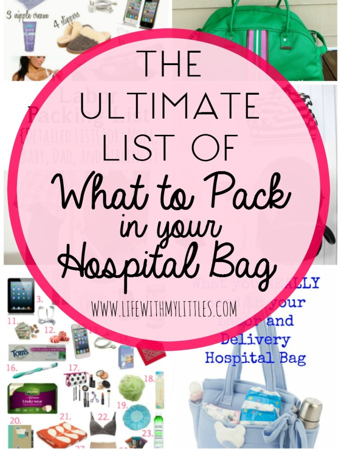 The Ultimate List of What to Pack in Your Hospital Bag
