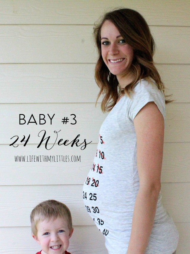 Life With My Littles Baby #3 Pregnancy Update: 24 Weeks