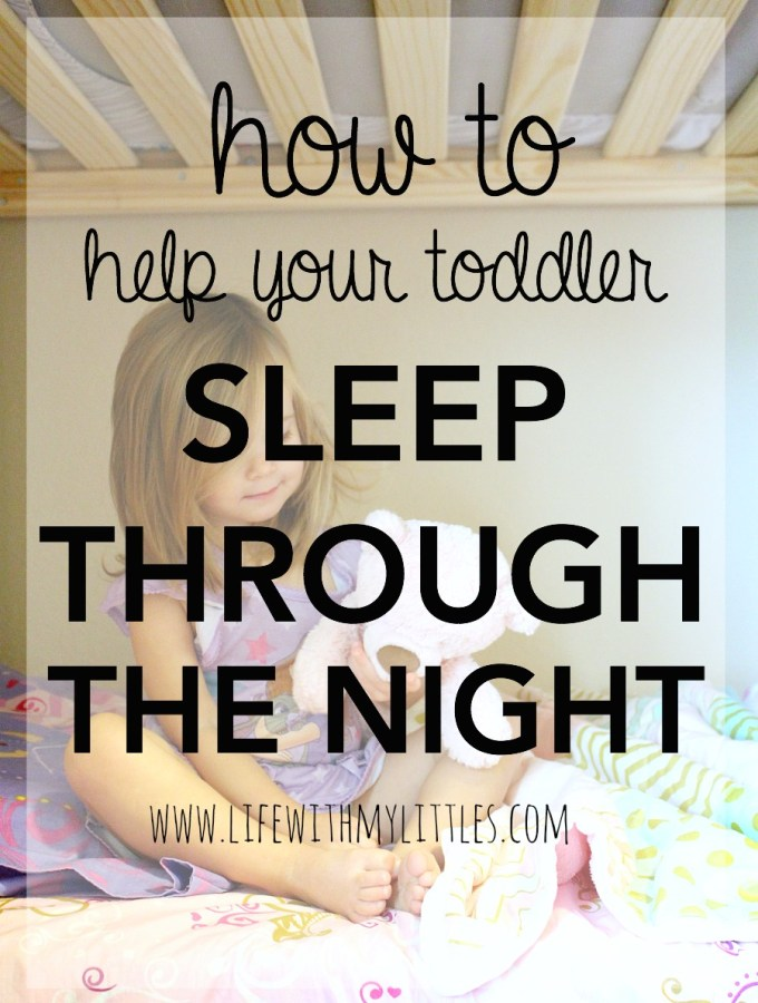 Helping Your Toddler Sleep Through the Night